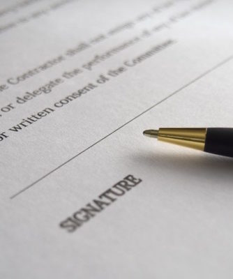 A Contract sample image